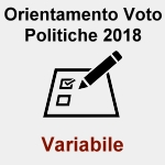 Orientamento Voto Politiche 2018
